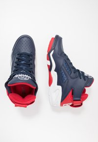 Ewing - BASELINE - Zapatillas altas - navy/red/white - 1