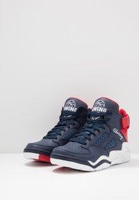 Ewing - BASELINE - Zapatillas altas - navy/red/white - 2
