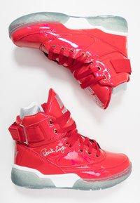 Ewing - 33 X BIG PUN - Zapatillas altas - chinese red/metallic silver/white - 1