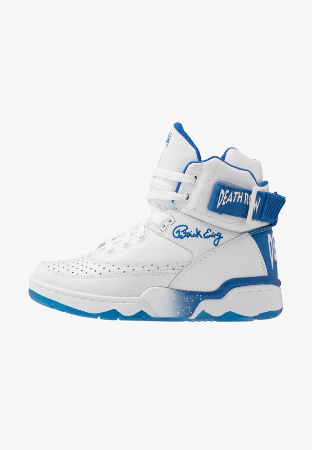 33 - Sneakers high - white/blue
