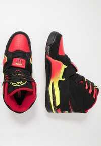 Ewing - CONCEPT - High-top trainers - black/red/yellow - 1