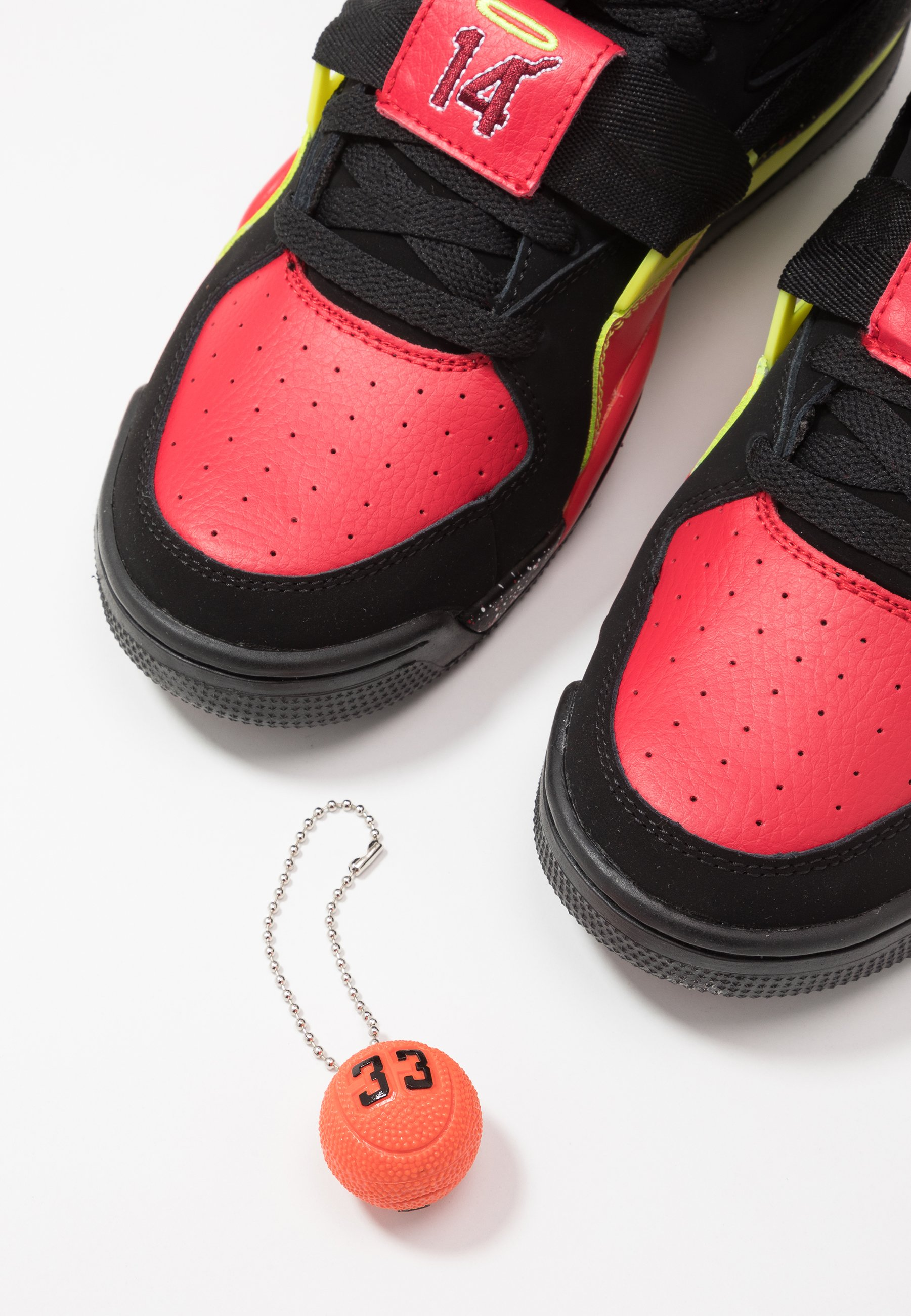 Ewing CONCEPT - Sneakersy wysokie - black/red/yellow