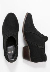 Evans - WIDE FIT ALEX SHOE - Ankelboots - black - 3