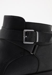 Evans - WIDE FIT STRAP BUCKLE  - Ankelboots - black - 2