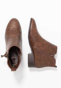 Evans - WIDE FIT ALEC  - Støvletter - brown - 3