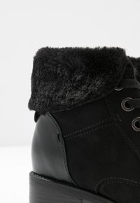 Evans - WIDE FIT ALTHEA - Korte laarzen - black - 2