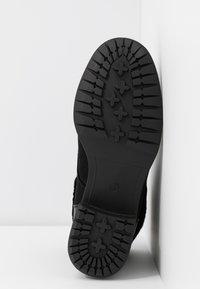 Evans - WIDE FIT ALTHEA - Korte laarzen - black - 6