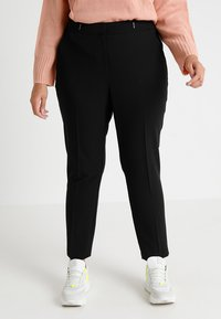 Evans - BAR TAB NAPLES TAPERED - Pantalon classique - black - 0