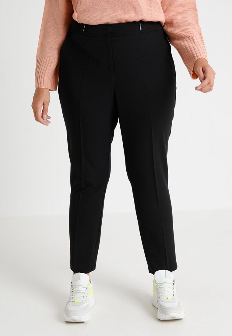 Evans - BAR TAB NAPLES TAPERED - Pantalon classique - black