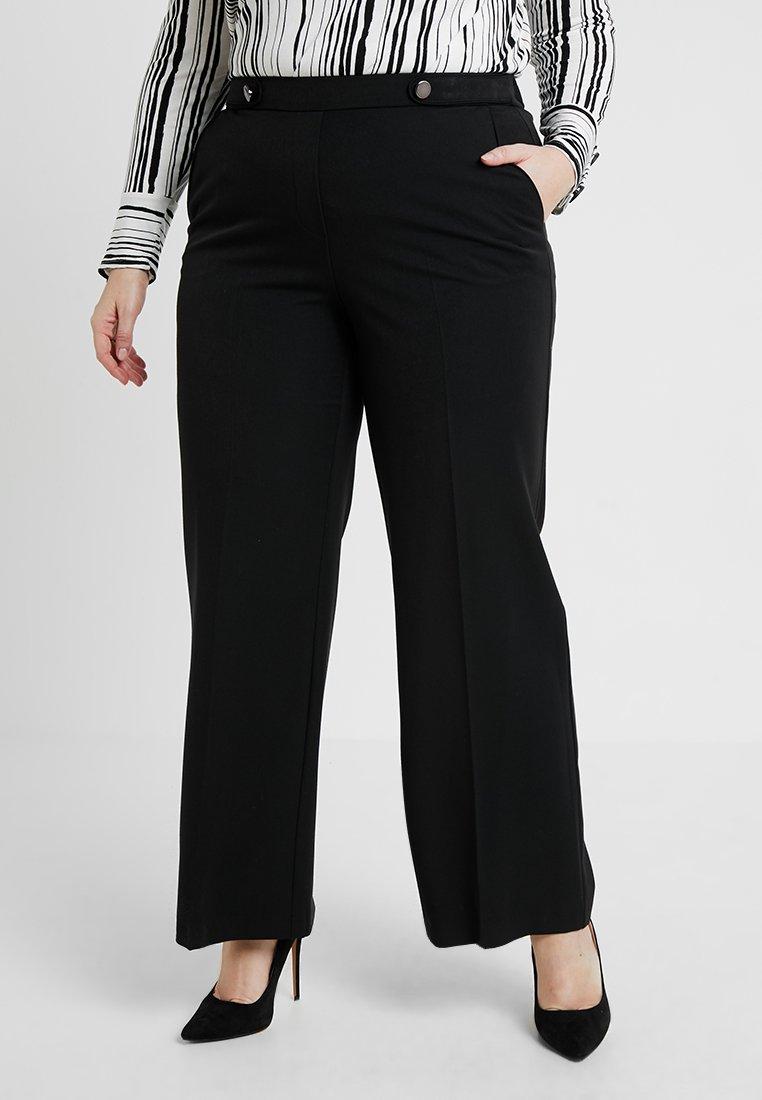 Evans - UPDATE PICASSO WIDELEG REG LEG - Trousers - black