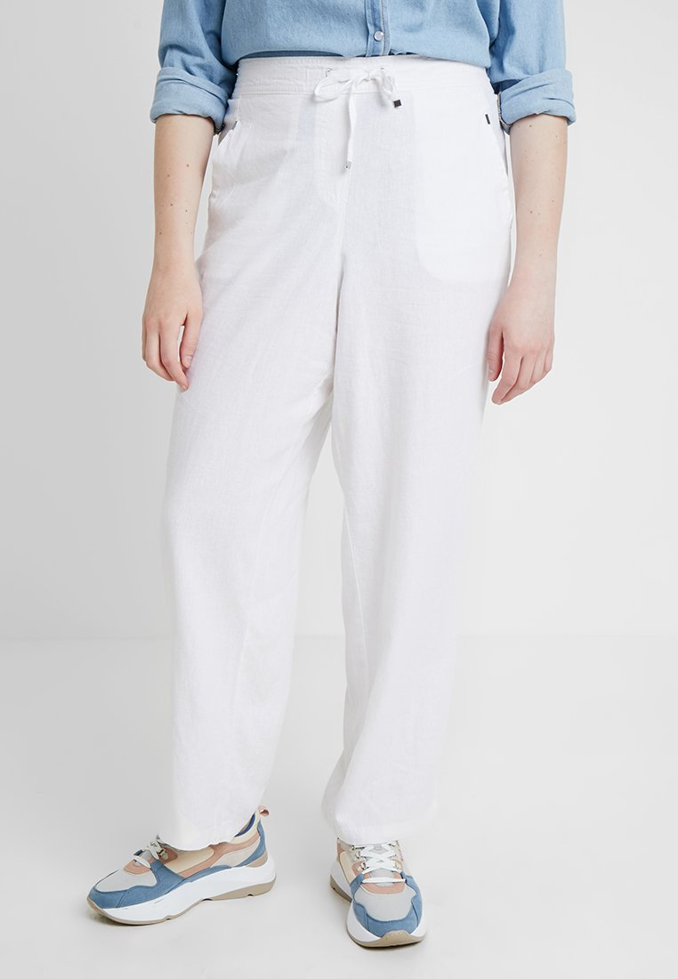 Evans - TROUSERS - Kalhoty - white