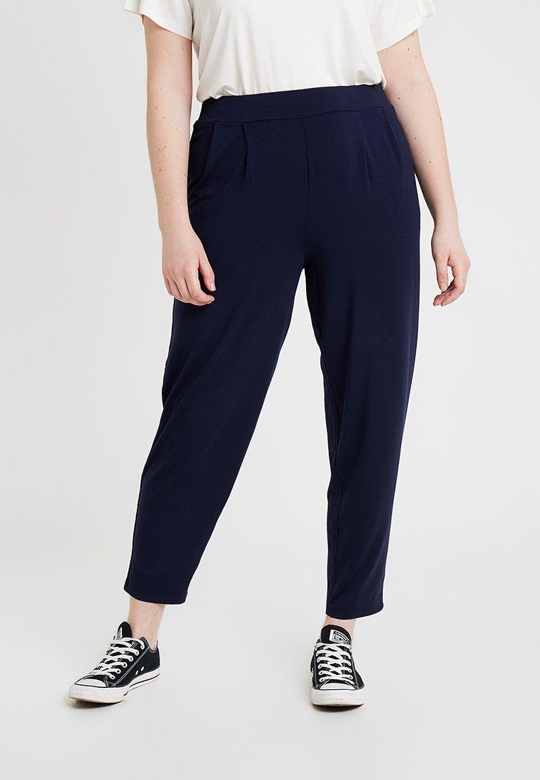 Evans - TAPERED TROUSER - Pantaloni - dark blue