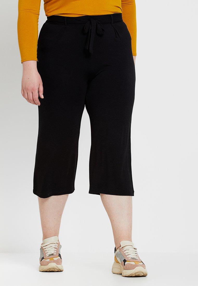 Evans - CROP TROUSER - Shorts - black