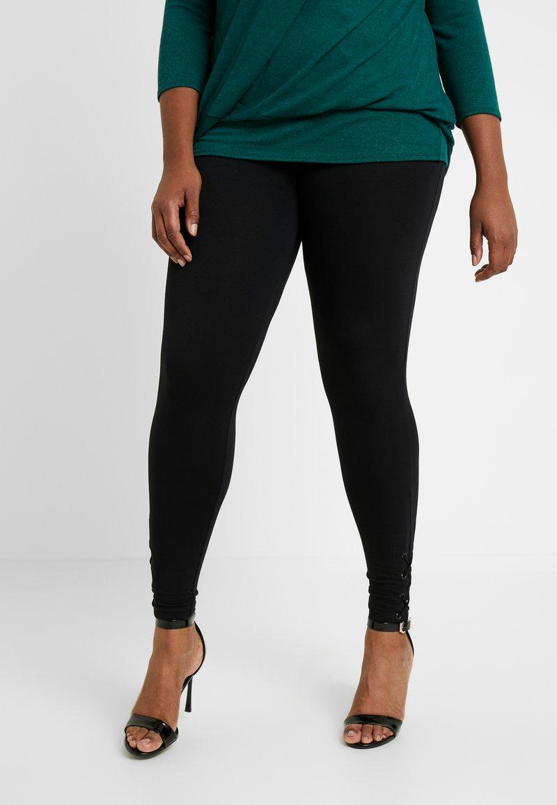 Evans - UP LEGGING - Leggings - black