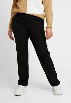 PICASSO - Pantalon classique - black
