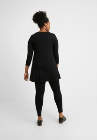 Evans - PONTE - Leggings - Trousers - black - 2