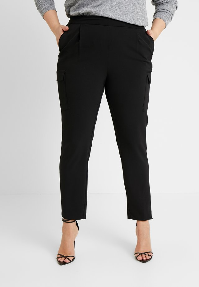UTILITY TROUSER - Spodnie materiałowe - black