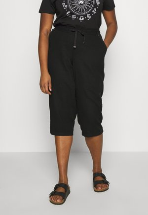 BLEND CROPPED TROUSER - Trousers - black