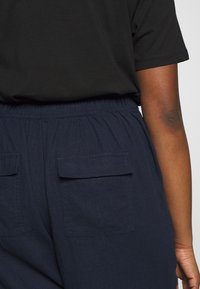 Evans - REGULAR BLEND TROUSER - Trousers - navy - 4