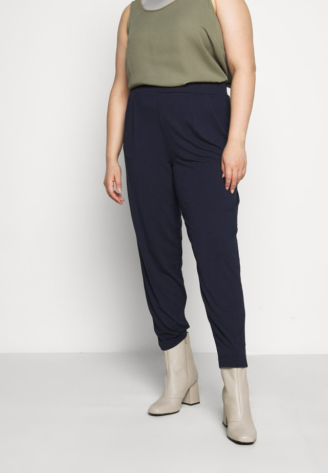 TAPERED TROUSER - Trousers - navy