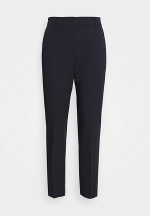 BUTTON TAPERED TROUSER - Bukse - navy