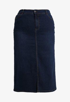 INDIGO SKIRT - Denimová sukně - indigo