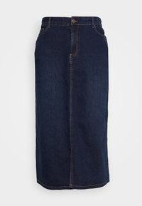 Evans - MIDI SKIRT WITH ELASTICATED BACK WAISTBAND - A-Linien-Rock - indigo - 6