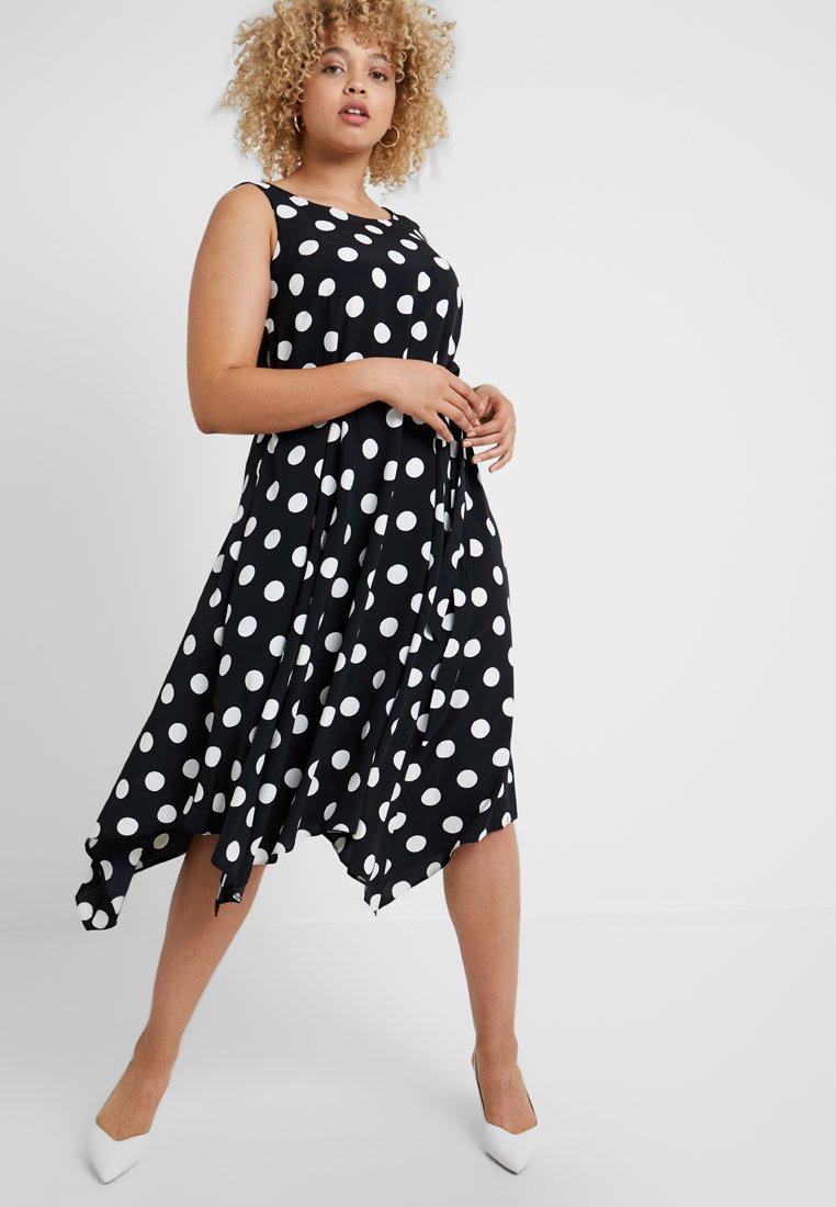 Evans - PRETTY WOMAN DRESS - Day dress - black