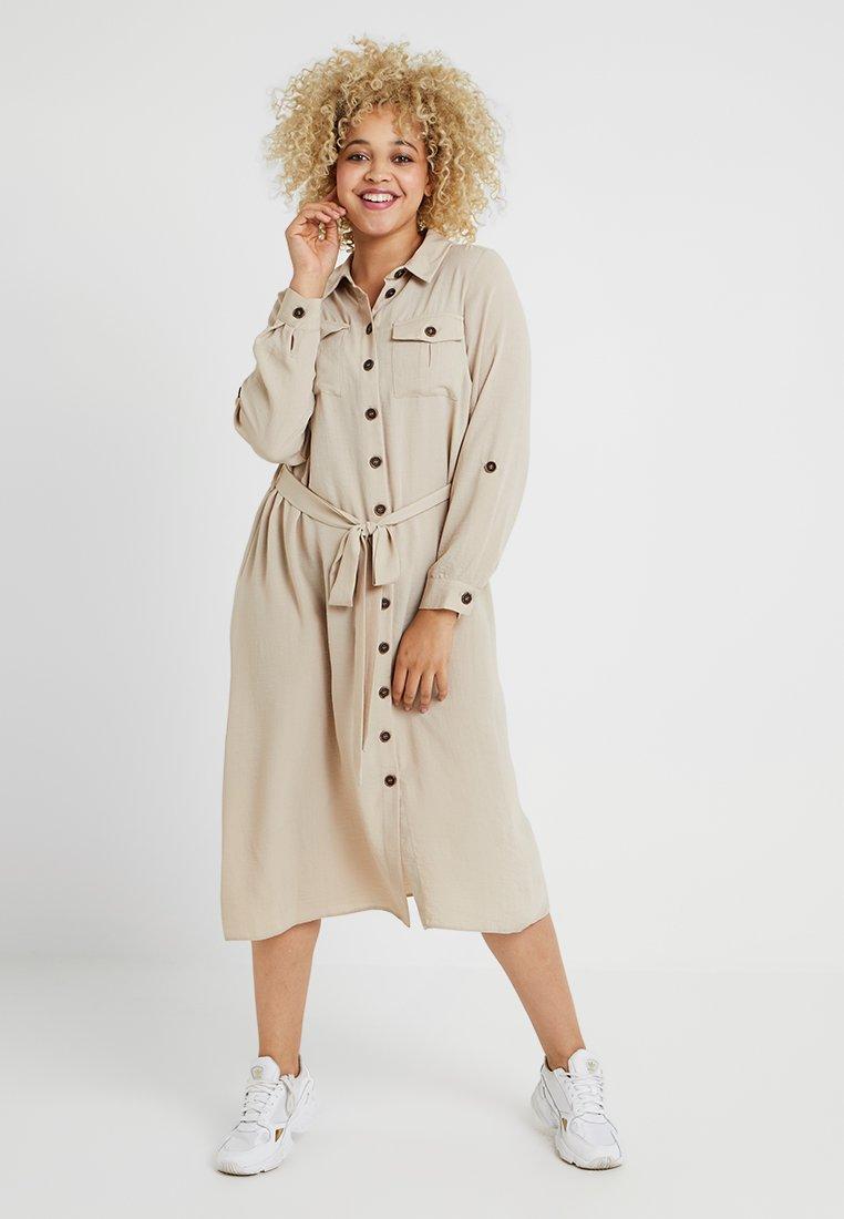 Evans - LOOK DRESS - Blusenkleid - beige