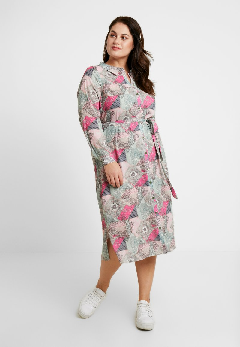 Evans - TILE PRINT DRESS - Blusenkleid - multi