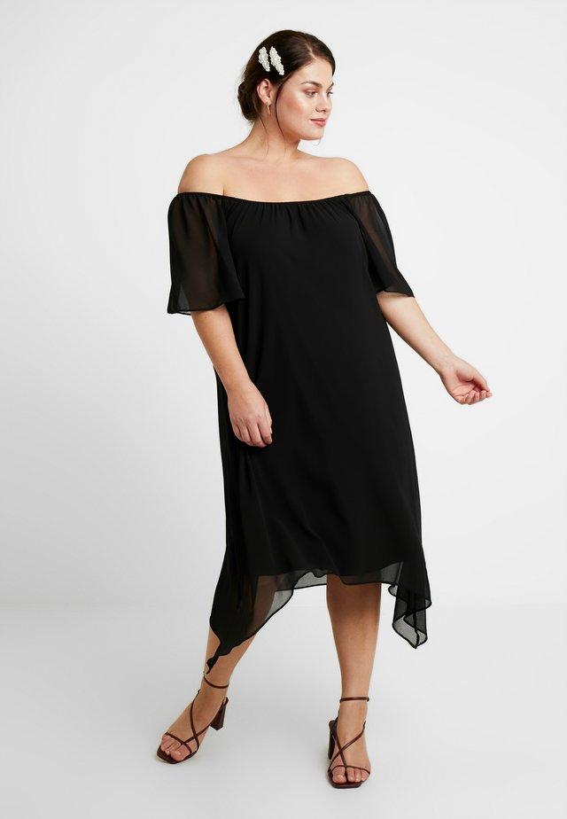 SPOT BARDOT DRESS - Vardagsklänning - black