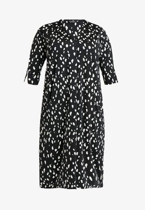 SMUDGE PRINT POCKET DRESS - Vestido ligero - multi