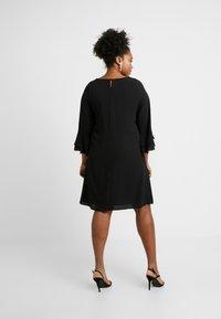 Evans - FRILL SLEEVE DRESS - Vestido informal - black - 3