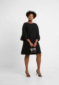 Evans - FRILL SLEEVE DRESS - Vestido informal - black - 2