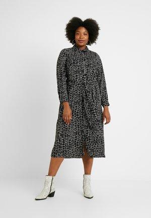 MONO DRESS - Robe chemise - black
