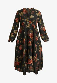 Evans - FRILL NECK  FLORAL DRESS - Denní šaty - multi - 6