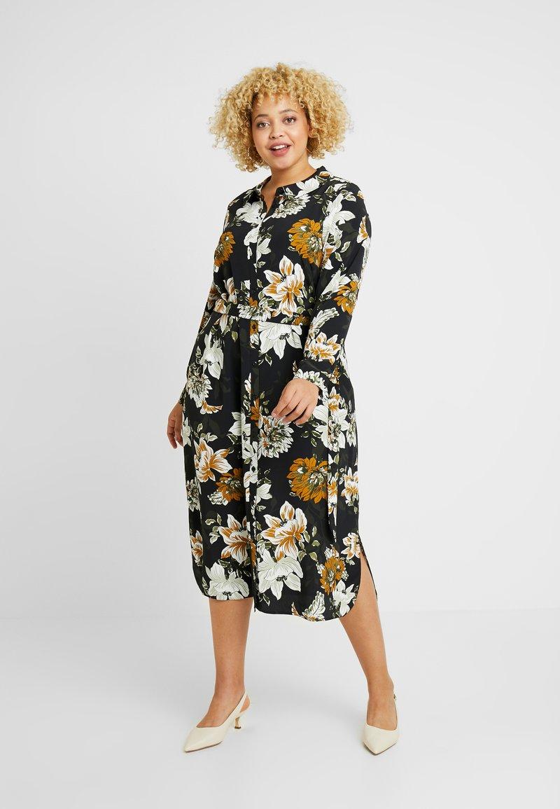 Evans - FLORAL A LINE DRESS - Skjortekjole - multi