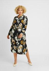 Evans - FLORAL A LINE DRESS - Skjortekjole - multi - 1