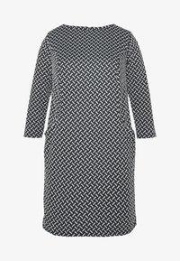 Evans - TEXURED PONTE DRESS WITH POCKETS - Robe fourreau - black - 6