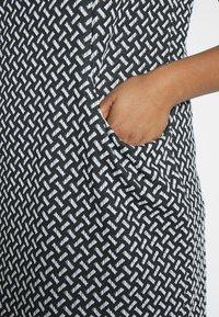 Evans - TEXURED PONTE DRESS WITH POCKETS - Vestido de tubo - black - 5