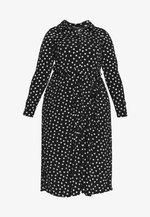 HEART ITY SHIRT DRESS - Sukienka z dżerseju - black
