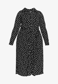 Evans - HEART ITY SHIRT DRESS - Robe en jersey - black - 4