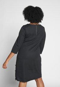 Evans - BUTTON DETAIL DRESS - Robe d'été - black - 2