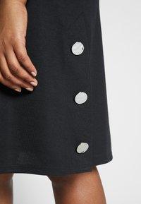 Evans - BUTTON DETAIL DRESS - Robe d'été - black - 3