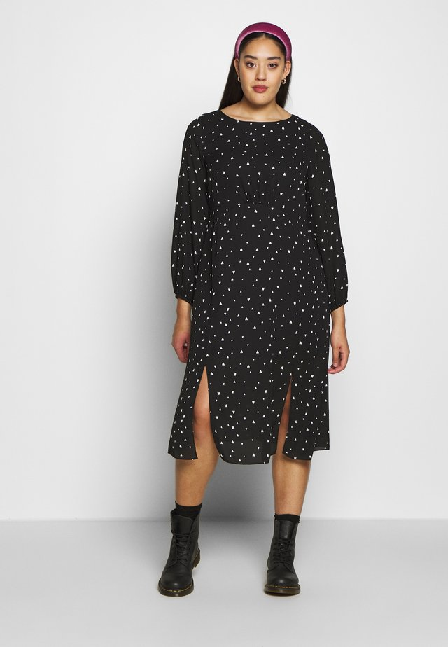 Korte jurk - mono