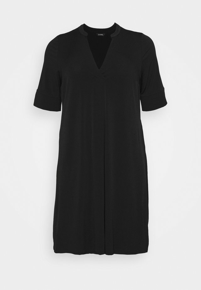 POCKET DRESS - Sukienka letnia - black
