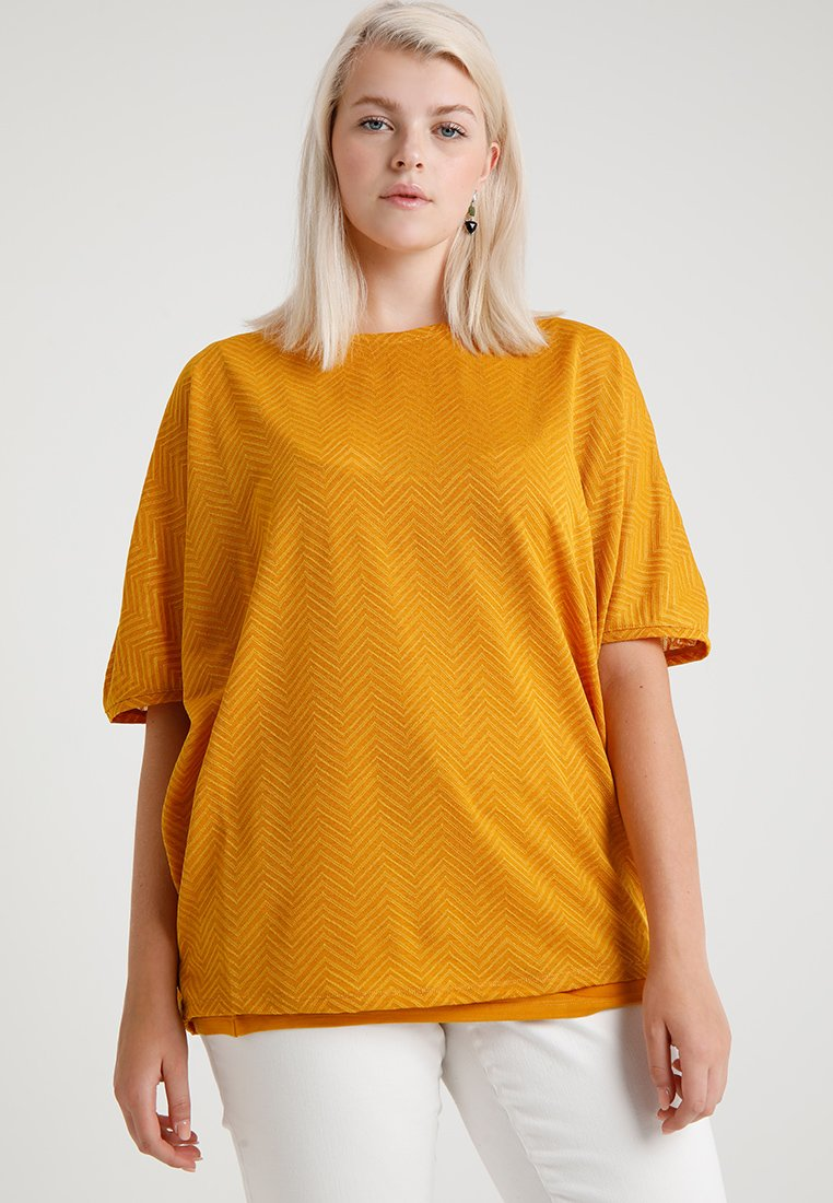 Evans - T-Shirt print - ochre