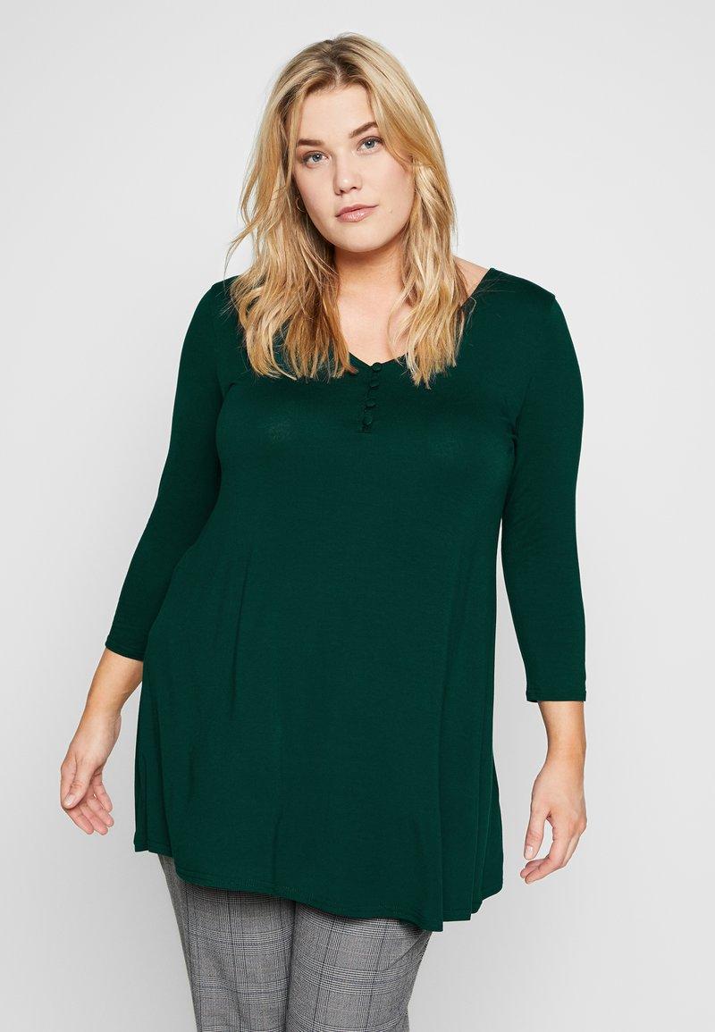 Evans - Langærmede T-shirts - green