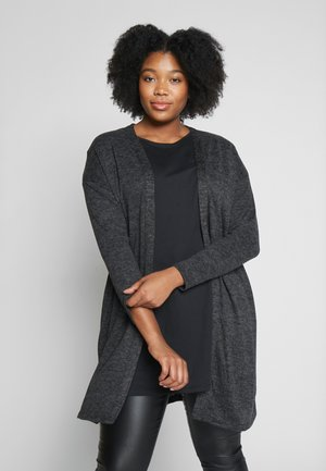 CHARCOAL SOFT TOUCH CARDIGAN - Chaqueta de punto - grey