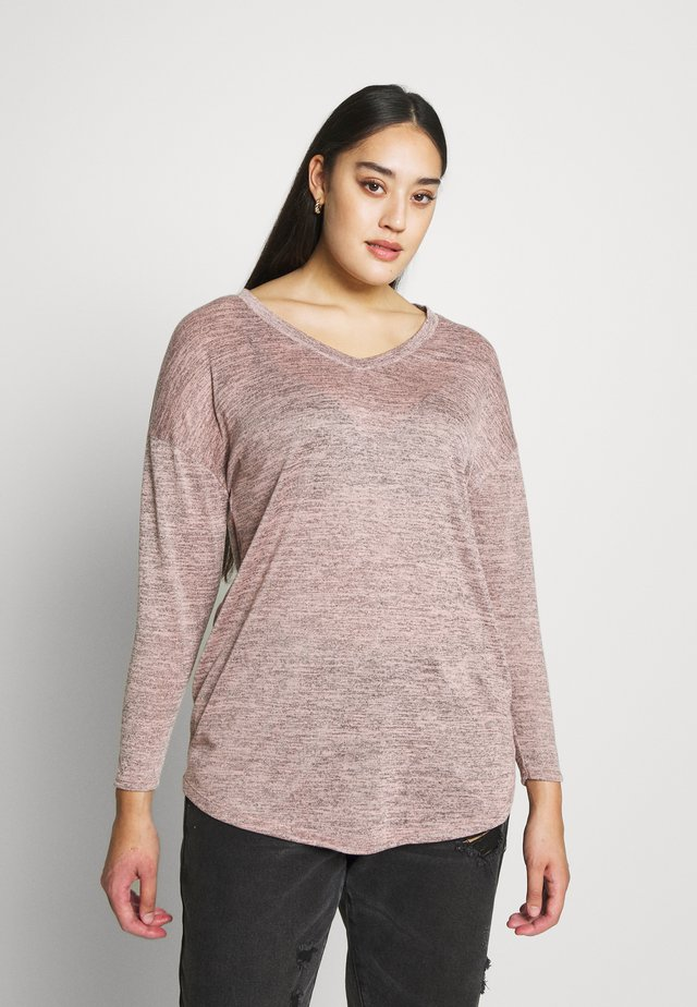 PINK TEXTURED - Neule - pink
